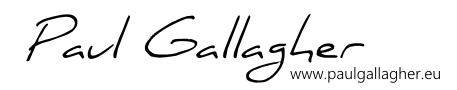 PaulGallagher.eu Logo